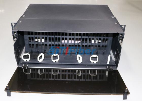 tableau de connexions optique glissable de la fibre 4U module de cassette pour de MTP/MPO fibre