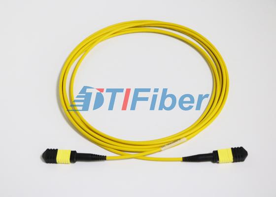Cordes de correction optiques unimodales de fibre d'UPC/RPA MTP avec la veste de LSZH