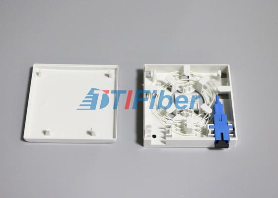 Panneau optique de prise de port de la boîte d'épissurage de fibre d'adaptateur de fibre de Sc/LC 2