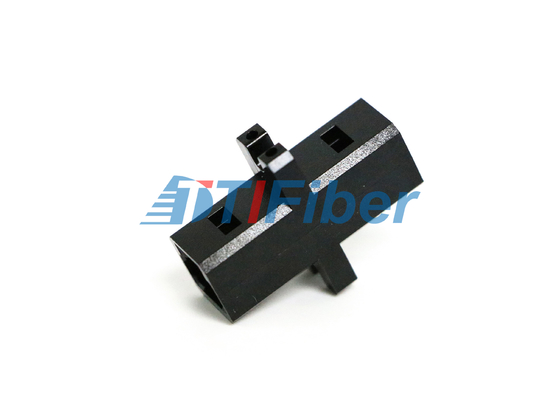 MTRJ MU Lc To Fc Adapter Black Plastic Housing For FTTH Newwork