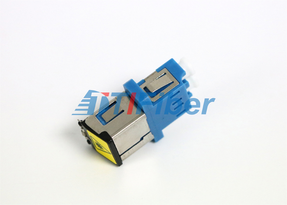 Flangeless Fiber Optic Adapter with Shutter for Optical Passive Device